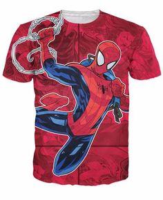 The Amazing Spiderman T-Shirt The Amazing Spiderman T-Shirt Spiderman the Marvel comic book series 3d Cartoon t shirt Women Men Tees JAKKOU††HEBXX JAKKOU††HEBXX - JAKKOUTTHEBXX