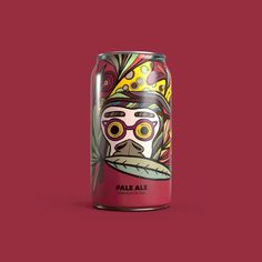 Illustrated Beers Cans - Branding & Packaging Design on Behance