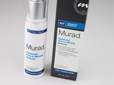 Noticing wrinkles but STILL have pimples? Check out our Murad Anti-Aging Acne Regimen review!