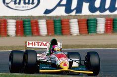 1993 Castrol Team Lotus-Ford 107B Pedro Lamy