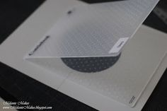 Fantabulous Cricut Challenge Blog: Quick Tip Tuesday - Embossing Folder Resist