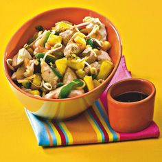 WeightWatchers.fr : recette Weight Watchers - Poulet à l'ananas