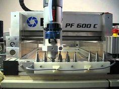USOVO Werkzeugwechsler mit Siemens LOGO - YouTube