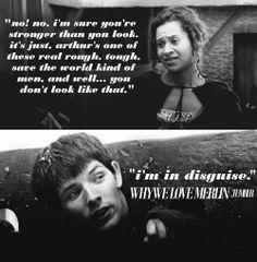 Merlin, quote