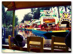 MEXICO - Xoximilco un remanso de paz cerca del Distrito Federal