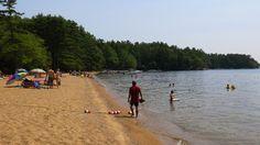 J. DAWG JOURNEYS: Maine's Sebago Lake State Park – Lakeside Camping ...