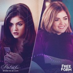 Aria in S:1 Ep:1 on ABC Family 2 Aria S:6 Ep:11 on Freeform