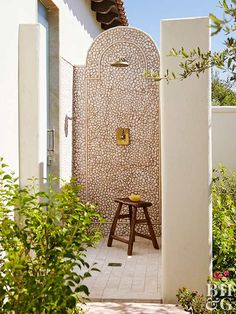 Things We Love: An Outdoor Shower – Design Chic Things We Love: An Outdoor Shower Outdoor l Outdoor living l