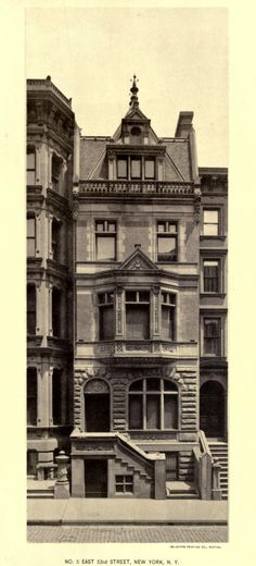 Residence on East 53rd Street, New York City