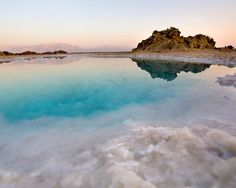 Floated in the Dead Sea, the lowest place on earth!!!!! ....Ein Gedi, Israel!