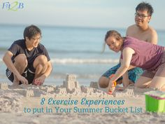 The Most Moving Summer Bucket List - Fit2B.com - Have you lost your summer workout motivation? Reconsider how you look at cheap summer activities. Those summer goals fitness might be something you can fit in your schedule while having fun with your family! #fit2b #diastasis #diastasisrecti #fitnessmotivation #homefitness #momswholift #fitnessjourney #thefitlife #postpartum #fitmomlife #bodypositive #realmotherhood #nature #realmotherhood #summertime #summervibes #campout #gardening… Summer Activities For Kids, Summer Kids, Pelvic Floor Exercises, Workout Motivation, Life Motivation, Anytime Fitness, Summer Goals, Summer Bucket Lists, At Home Workouts