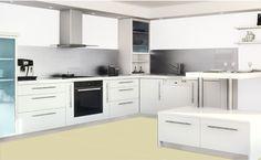 Simulateur peinture cuisine, pour peindre meuble de cuisine, plan de travail et carrelage avec peinture Rénov'cuisine Syntilor