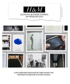 H launches «& Other Stories» in Spring 2013