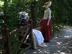 Colonial Williamsburg Dresses for Women | Fashionable Frolick, Colonial Williamsburg