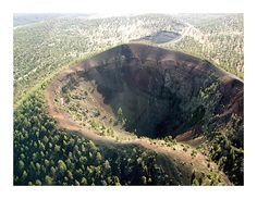 Bandera Volcano Site in NW New Mexico.