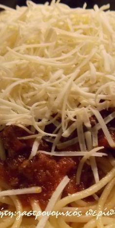 Μακαρόνια με κιμά - cretangastronomy.gr Cookbook Recipes, Cooking Recipes, Spaghetti, Ethnic Recipes, Food, Chef Recipes, Essen, Meals, Eten