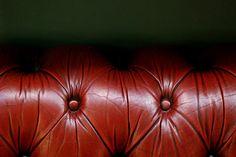 vintage leather furniture :)