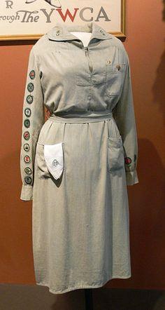 Girl Scout uniform 1927 Womens Museum.jpg
