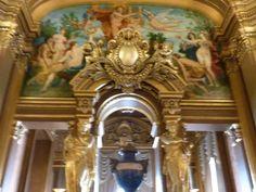 Mur de la gallerie - Opéra Garnier - Paris