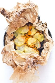 Cartoccio di verdure al forno