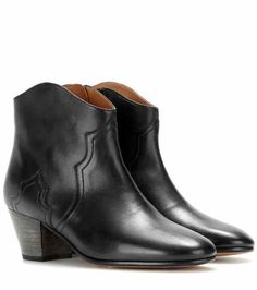 Étoile Dicker leather ankle boots | Isabel Marant