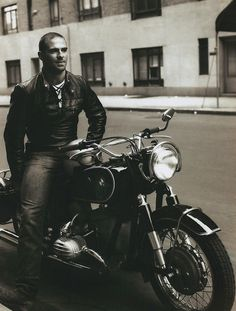 Oliver Sacks on a BMW in 1961.