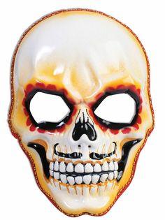Halloween Men's Day of the Dead Skull Mask