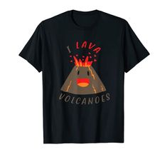 Valentinstag I Lava Volcanoes Vulkan Fans Geologe Geologie T-Shirt Lava, Volcano, T Shirts, Cool Designs, Nature, Mens Tops, Animals, Valentines Day, Tee Shirts