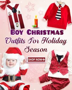 b5233e069897 Baby's First Christmas: Shop for Holiday Kids Outfit and Clothes Online In  India