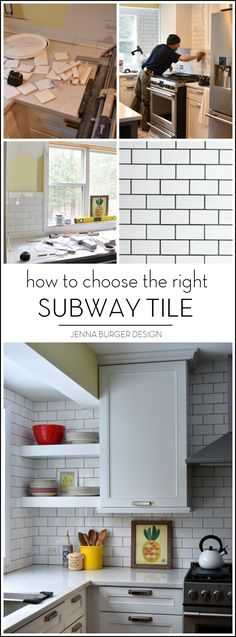 There Are MANY Subway Tile Styles + Colors. Here Are Useful Tips That Will  Help The Process Of Choosing The Right Subway Tile For The Project.