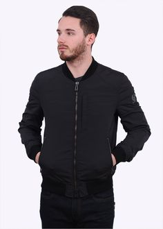 Belstaff Stockdale Blouson Jacket - Black