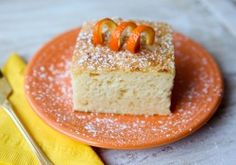 Three Ingredient Low-Fat Creamsicle Cake | The Daily Dish