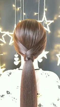 Easy Hairstyles For Long Hair, Diy Hairstyles, Hairstyles Videos, Easy Elegant Hairstyles, Easy Hairstyles Tutorials, Easy And Beautiful Hairstyles, Wedding Hairstyles, Homecoming Hairstyles, Hairstyles 2018