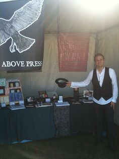 Lorin Morgan-Richards with A Raven Above Press Raven, Illustrator, Author, Film, Artist, Photos, Crow, Films, Film Stock