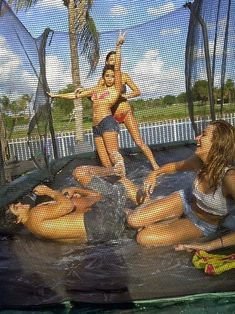 Summer Fun ~ Shaving cream on a trampoline with water --- wouldnt wanna be this undressed but this looks fun Summer Goals, Summer Of Love, Summer 2014, Summer Fun, Summer Things, Trampolines, Summer Nights, Summer Vibes, Good Vibe