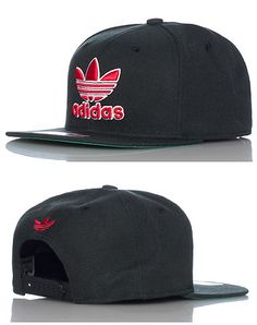 adidas Thrasher logo snapback cap Adjustable strap on back of hat for ultimate comfort Embroidered adidas logo on front Logo stitching on back