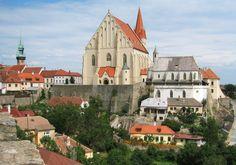 znojmo Czech Republic, Prague, Mansions, House Styles, City, Pictures, Home Decor, Wonderful Places, Paisajes