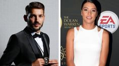 Sydney FC's Milos Ninkovic and Perth Glory's Sam Kerr awarded the Johnny Warren and Julie Dolan Medals respectively last night at the A-League's Dolan Warren Awards. Their coaches Graham Arnold and Bobby Despotovski were also named coach of the year, while Danny Vukovic won Goalkeeper of the Year. 02.05.17