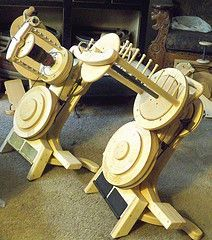 Hopper Travel and Novelty Yarn Wheel