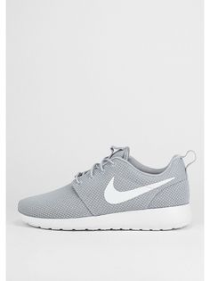 NIKE Laufschuh Roshe Run wolf grey/white