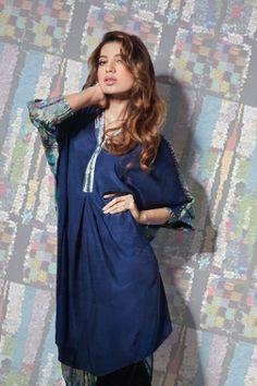 Khaadi Khaas Digital Lawn Prints Collection 2013 For Women by Pakistan Fashion Magazine Pakistani Dress Design, Pakistani Dresses, Fashion Mag, Fashion Outfits, Fashionable Outfits, Pakistan Fashion, Desi Clothes, Dressy Dresses, Wedding Suits