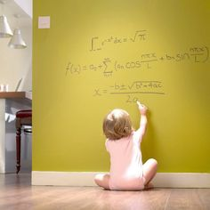 Writing on the walls used to get you in trouble. Well now it's not only allowed, it's encouraged! Turn any color wall into a whiteboard surface with our 1-