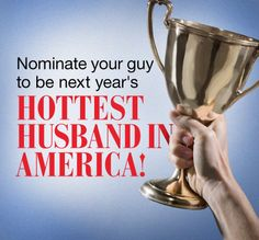Your husband's hotness could win you a trip to Bali! http://www.redbookmag.com/sweepstakes/21413