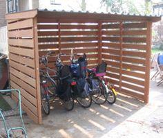 Want to know about bike shed plans? Then this is definitely the right place!