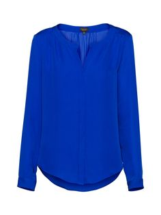 T. Babaton, Bergen Blouse in Yves Blue on Aritzia
