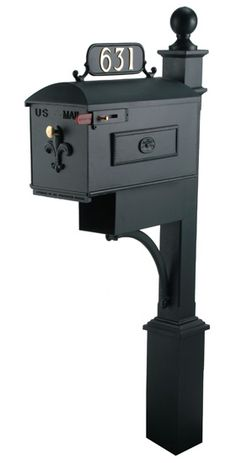 The Imperial 631 mailbox system is helping raise the bar in curb appeal. This hand crafted decorative mailbox system is virtually maintenance free.