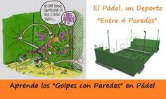 """Aprende los """"#Golpes con PAREDES"""" en #Pádel. Te Ayudamos a que Cojas Soltura con los siguientes #vídeos. http://blgs.co/JRnXvc"""