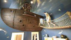 Szóval a hajó a plafonon az ágy. Annak ellenére, hogy ez egy gyerekszoba, mi gondolkodás nélkül elfogadnánk. Forrás: kongregate.com
