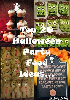 Le Baby Bakery: Top 20 Halloween Party Food Ideas