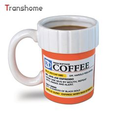 Prescription Pill Bottle Mug For Coffee Tea